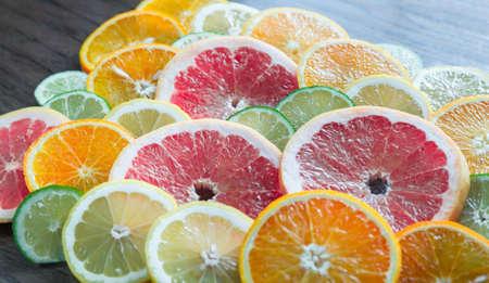 감귤류의 과일: 감귤 류의 과일 조각