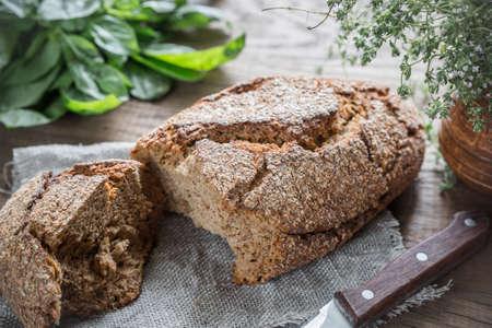 pumpernickel: Pumpernickel bread