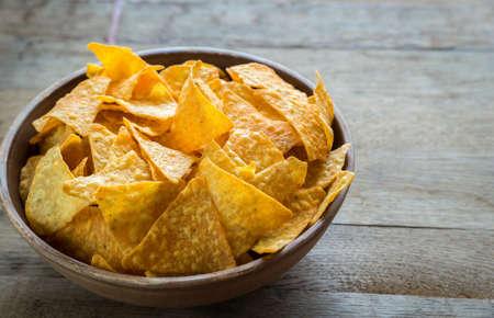 tortilla: Tortilla chips Stock Photo