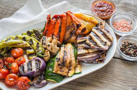 Grilled vegetables Banque d'images