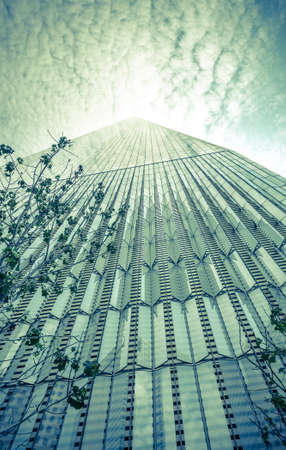 wtc: NEW YORK - JULY 13: Freedom Tower 1 WTC in Manhattan on July 13, 2015. One World Trade Center is the tallest building in the Western Hemisphere and the third-tallest building in the world. Editorial