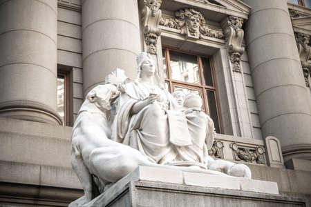 alexander hamilton: Asia statua NYC