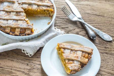 pumpkin pie: Pumpkin pie