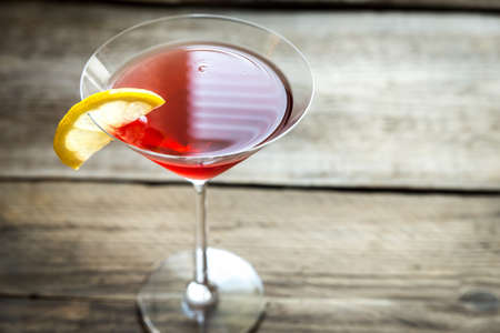 cocktail: Cosmopolitan cocktail