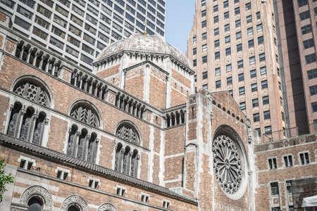 church architecture: St Bartholomews Episcopal church New York