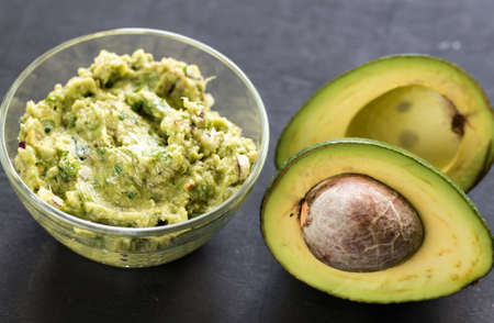 guacamole: Guacamole Stock Photo