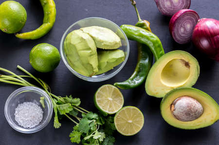 guacamole: Guacamole ingredients