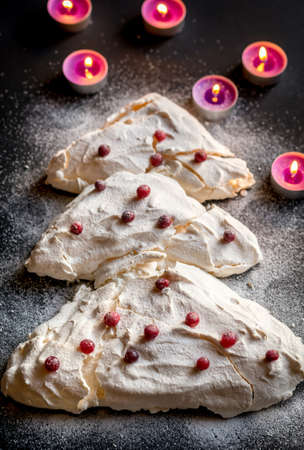 meringue: Christmas meringue