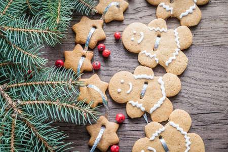 galletas de jengibre: Christmas ginger cookies