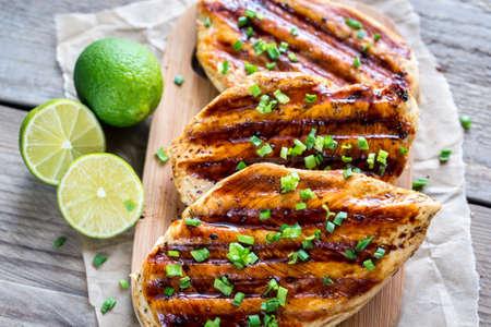hot breast: Grilled chicken