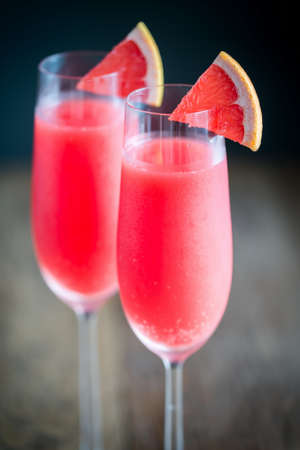 Mimosa cocktail Фото со стока