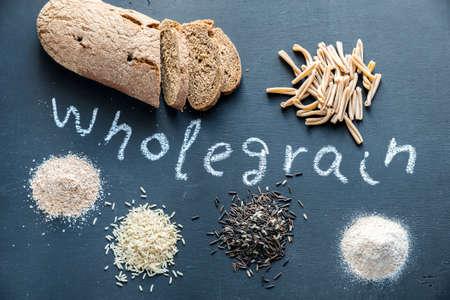 wholegrain: Wholegrain food