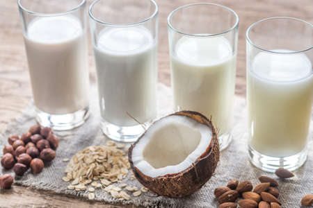 Non-dairy Standard-Bild