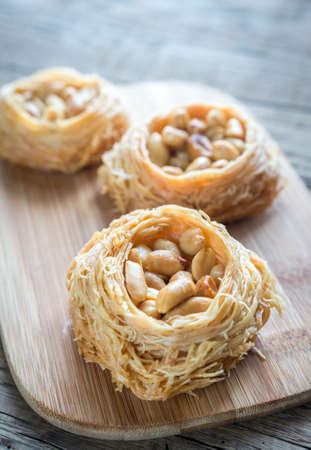 baklava: Baklava with peanuts