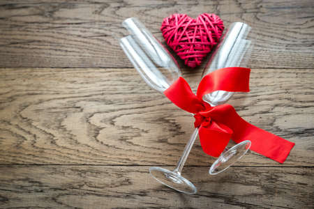 flutes: Flutes with heart