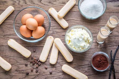 tiramisu: Tiramisu ingredients