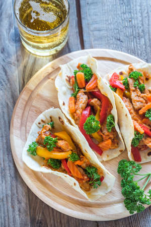 spicy: Spicy Tacos Stock Photo