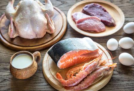 almeja: alimento de la dieta de proteínas