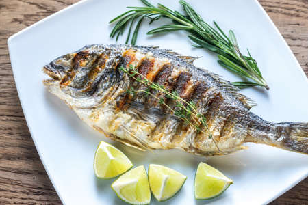 dorade: Grilled fish