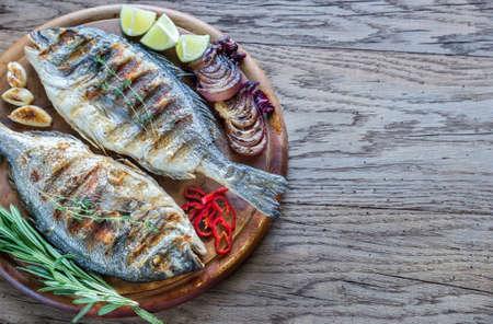 daurade: Grilled fish