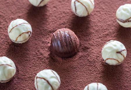 tucker: Chocolate candies