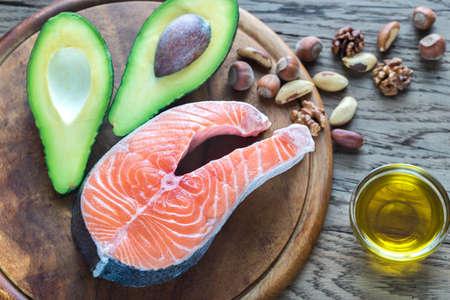 omega3: Food with Omega-3 fats