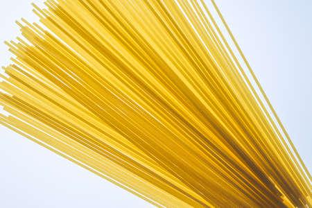 durum: Raw spaghetti pasta