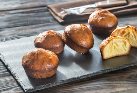 Rum baba on the board