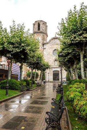 Church of Saint Nicholas in Malgrat del Mar Imagens