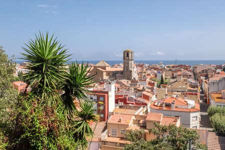 View of Malgrat del Mar, Spain