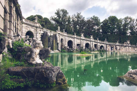 18th Century The Fountain of Aeolus, Caserta, Italy