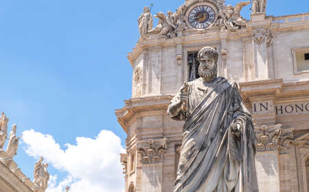 Statue of St. Peter in the Vatican