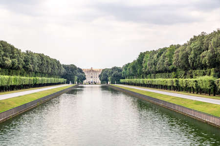 The Royal Palace of Caserta - former royal residence in Caserta of kings of Naples Redactioneel