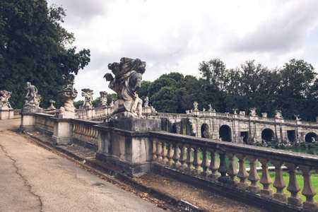 18th Century The Fountain of Aeolus, Caserta, Italy