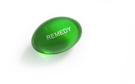 reliever: Pill with remedy