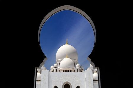 Abu-Dhabi  Sheikh Zayed mosque photo