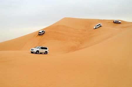Dubai Desert driving