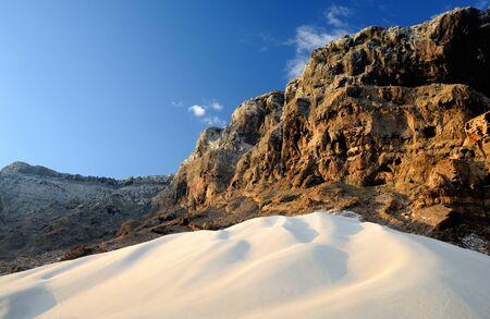 yemen: Yemen  Socotra island  Sand dunes of Archer