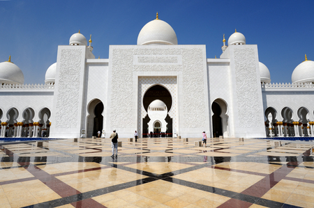 Abu-Dhabi. Sheikh Zayed mosque photo