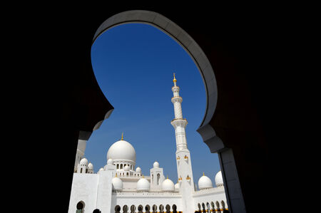 Abu-Dhabi. Sheikh Zayed mosque photo