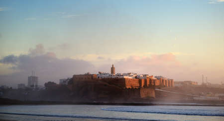 casbah: Morocco. The Kasbah of the Oudaya in Rabat Stock Photo