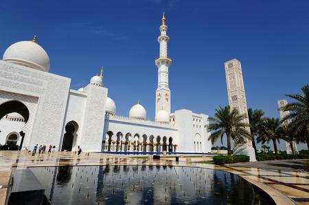 Abu-Dhabi. Sheikh Zayed mosque.