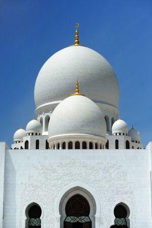 zayed: AbuDhabi. Sheikh Zayed mosque.