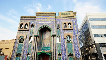 bur dubai: Iranian Mosque in Bur Dubai. Editorial