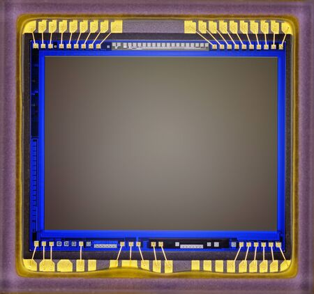cmos: Close-up of digital camera sensor.
