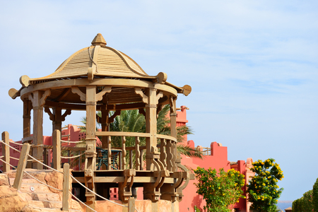 Resort near the sea in Sharm el Sheikh, Egypt.