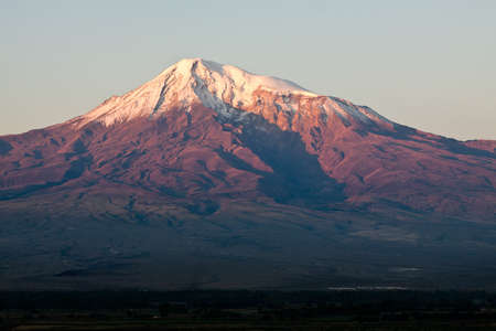 Ararat mountain during dramatic sunrise, symbol of Armenia Stock Photo - 16366508