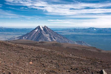 kamchatka: Paesaggio vulcano in Kamchatka, Russia