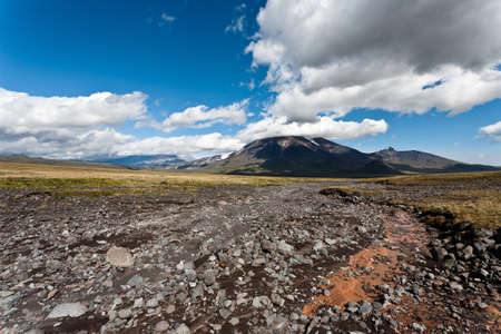 kamchatka: Volcano landscape on Kamchatka, Russia