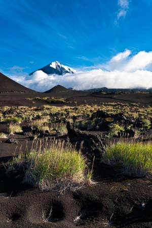 kamchatka: Vulcano Tolbachik su Kamchatka, Russia. Archivio Fotografico
